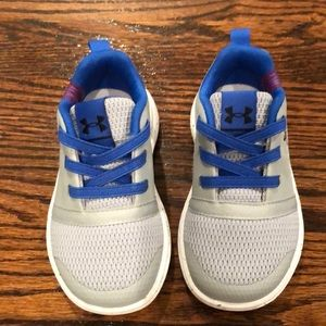 Like New Toddler Boy Under Armour Shoes - Size 6